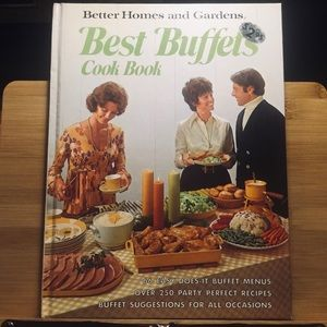 Better Homes & Gardens vintage cookbook Buffets